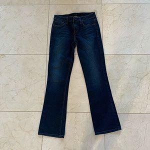 Joes Like New Sz 27 Mid-Rise Bootcut Dark Jeans